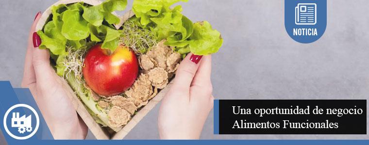 Alimento funcional, tendencia con una oportunidad de negocio