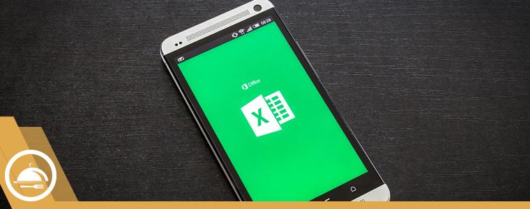 Aplicacion de excel en celular