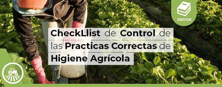 Checklist de control de las practicas correctas de higiene agricola