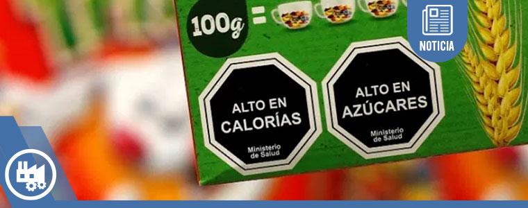 Así luce el nuevo etiquetado en México.