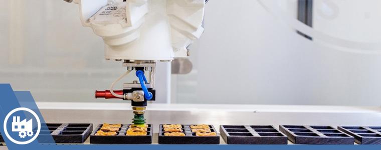 Robot en línea de alimentos